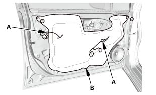 Honda Civic Service Manual Front Door Glass Run Channel