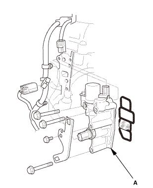 Honda Civic Service Manual - Rocker Arm Oil Control Valve Removal